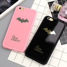Buy Batman Silicone Soft Phone Case iPhone 6S 6 Plus Rubber Phone Back Cover iPhone 7 7 Plus 6 6S Mirror Cases Phone Shell for $2.28 in AliExpress store