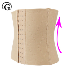 PRAYGER Women Bodybuilding Tummy Control Stomach Girdle Slimmer Waist Trimmer Body Shaper Corset Female Lady Waist Cinchers Belt