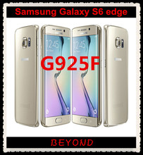 "Samsung Galaxy S6 edge Original Unlocked 4G GSM Android Mobile Phone G925F Octa Core 5.1"" 16MP 3GB RAM 32GB ROM(China)"