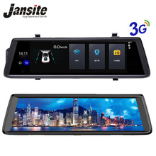 "Jansite Car cameras 10"" Touch Screen Android 5.0 3G WIFI Car dvr GPS Navigators FHD 1080P Video Recorder Mirror Dvr Dash Cam(China)"