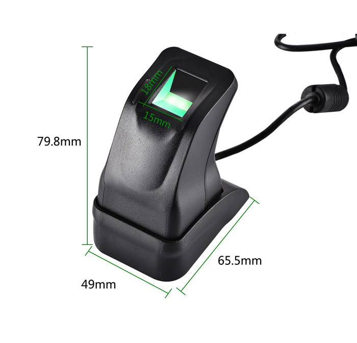USB Fingerprint Reader Sensor Capturing Reader scanner ZKT ZK4500 for Computer PC Home and Office Free SDK ZKTECO<br>