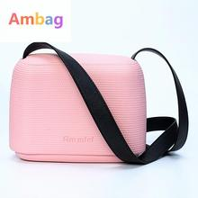 Ambag Women Messenger Bags Mini Beach Bag Eva Material Box Crossbody Handbag Multicolourtote Clutch Shoulder Bags Bolsa Feminina