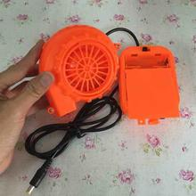 Hot Sale Electric Mini Fan Blower for Mascot Head Inflatable Costume 6V Powered by Dry Battery(China)