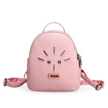 Stud Metal PU Leather Backpack