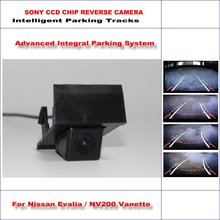 Buy Intelligent Parking Tracks Rear Camera Nissan Evalia / NV200 Vanette Backup Reverse / NTSC RCA AUX HD SONY CCD 580 TV Lines for $42.90 in AliExpress store