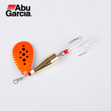 Abu Garcia Droppen Spinner Fishing Baits 12g 2 colors Bass Trout Perch Pike Fishing Lures(China)