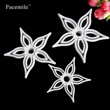 3PCS Cutting Embrossed Mold Flower Sugarcraft Gigt Decorating Fondant Cookie Mold Gigt Decoration Tool Plunger Cutter Tool 04106