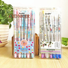 Friction Easy To Rub Gel Pens Material Escolar 0.5Mm Sweet Office For Girls Papeleria Neutral Pen School Supplies Dd1580(China)