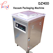 1pc 220V 1000W Commercial DZ400 304stainless steel deepened single chamber vacuum packaging machine(China)