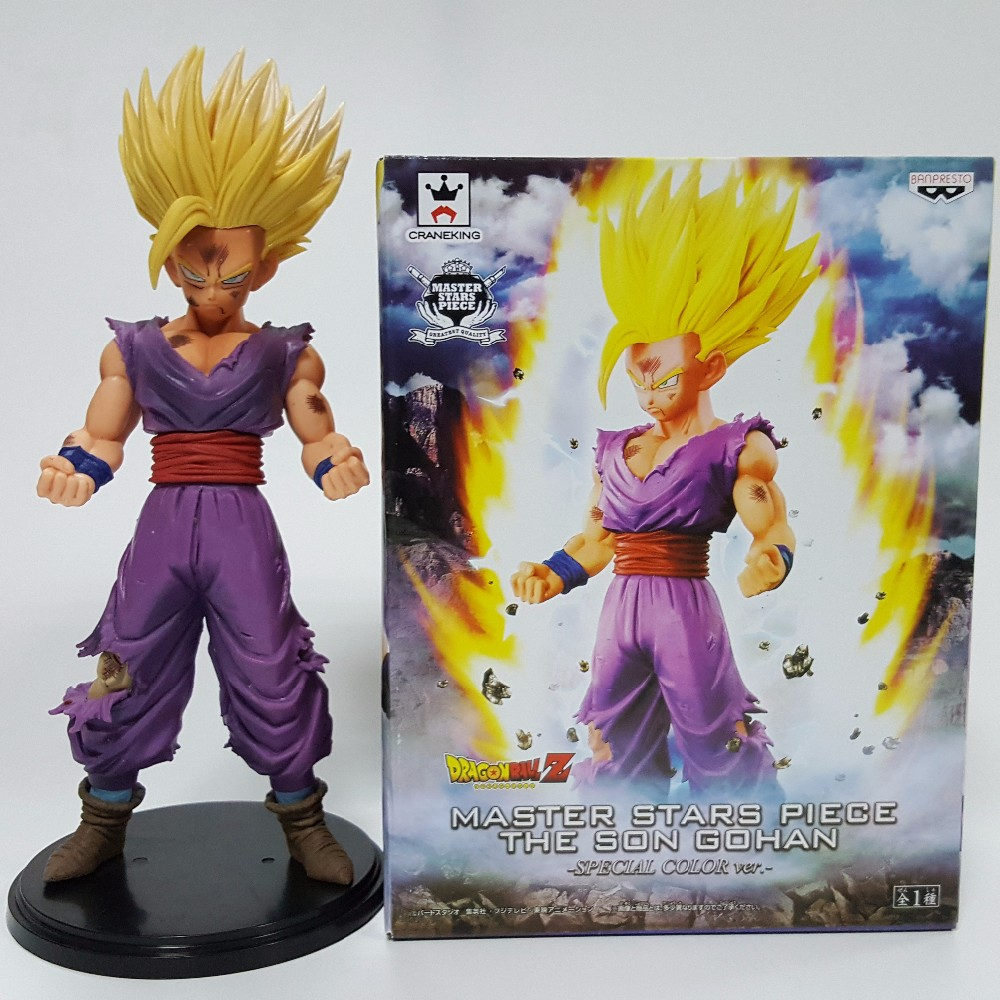 Dragon Ball Z Action Figure Gohan PVC Figure 200MM Dragon Ball Son Gohan Model Toy Special Version Figuras DBZ Gohan MSP Figure<br><br>Aliexpress