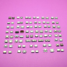 45models 180pcs Micro USB Jack socket Charging port connector For PC Tablet/ mobile phone For Sony Lenovo Huawei HTC Nokia ...