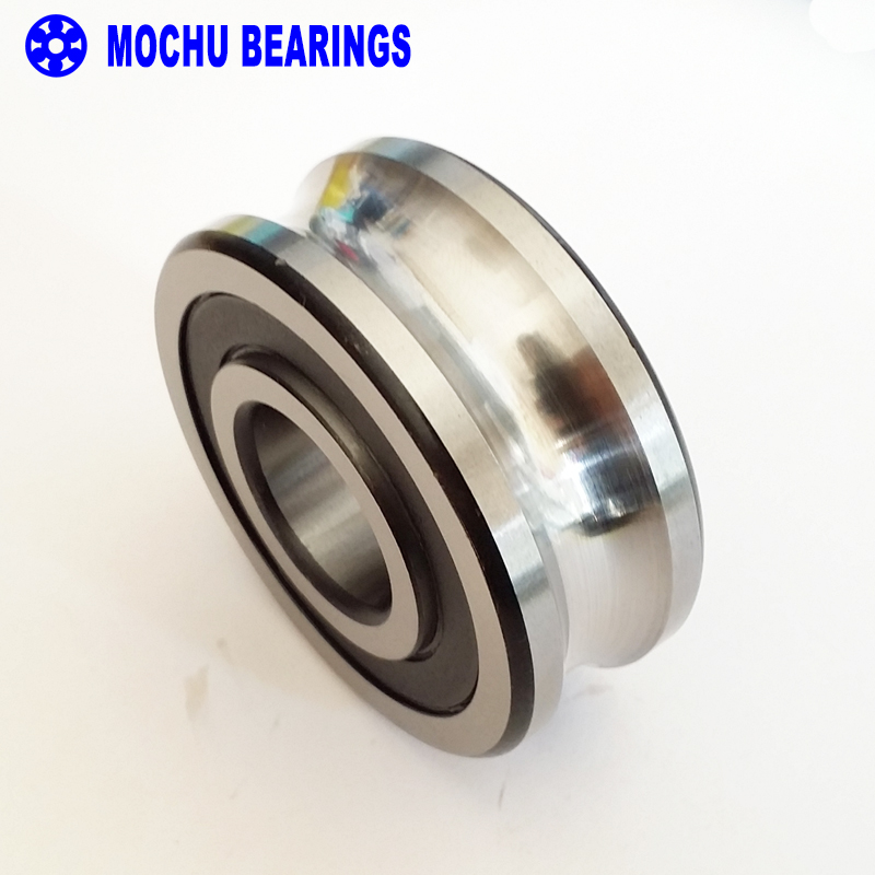 1PCS LFR5208-40NPP LFR 5208-40 NPP Track rollers double row angular contact ball bearings Gothic arch raceway groove<br>