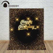 Allenjoy christmas backdrop photography festive confetti balloons candles backgrounds for photo studio Any size can be ordered