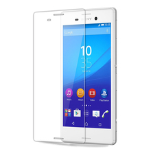 9H 2.5D Tempered Glass For Sony Xperia M4 Aqua Dual E2303 E2333 E2353 Screen Protector Front Cover Guard Film With Cleaning Tool