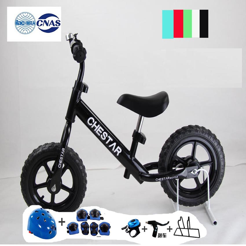 CHESTAR  12 Inch Baby Balance Bike With Brake And High Carbon Steel Frame And EVA Wheel, SG Certification,5 color for available<br><br>Aliexpress