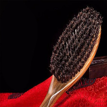 Wood Hair Brush Sandalwood comb Wooden Hair Brushes Paddle Hair comb Hair Extension Brush J19