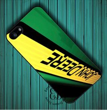 John Deere Tractor Logo case for iPhone 4s 5s 5c 6s 7 Plus iPod 5 6 Samsung Galaxy s3 s4 s5 mini s6 edge plus Note 3 4 5