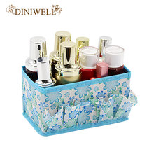 DINIWELL 5 Colors Home Office Desktop Multifunction Folding Makeup Cosmetics Zakka Storage Box Container Case Stuff Organizer(China)