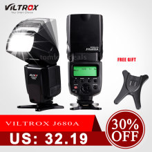Viltrox JY-680A On-camera Speedlite вспышка GN33 для камеры Canon Nikon Sony Pentax DSLR(China)