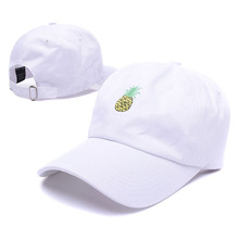 Hot Selling Men Women Pineapple Dad Hat Baseball Cap Polo Style Unconstructed Fashion Unisex Dad Cap Hats Free Delivery