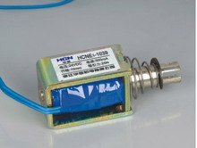 HCNE1-1039 12V 24V Pull Hold/Release 10mm Stroke 4.1Kg Force Electromagnet Solenoid Actuator(China)