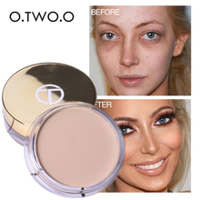 2017 New Color Corrector Concealer Makeup Long Lasting Face Pores Acne Spot Full Cover o.two.o Brand Make Up Concealer Palette(China)