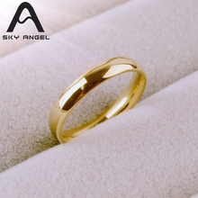 SkyAngel fashion rings women 316L Stainless Steel ring men lovers female lady rings for women Wholesale wedding rings(China)