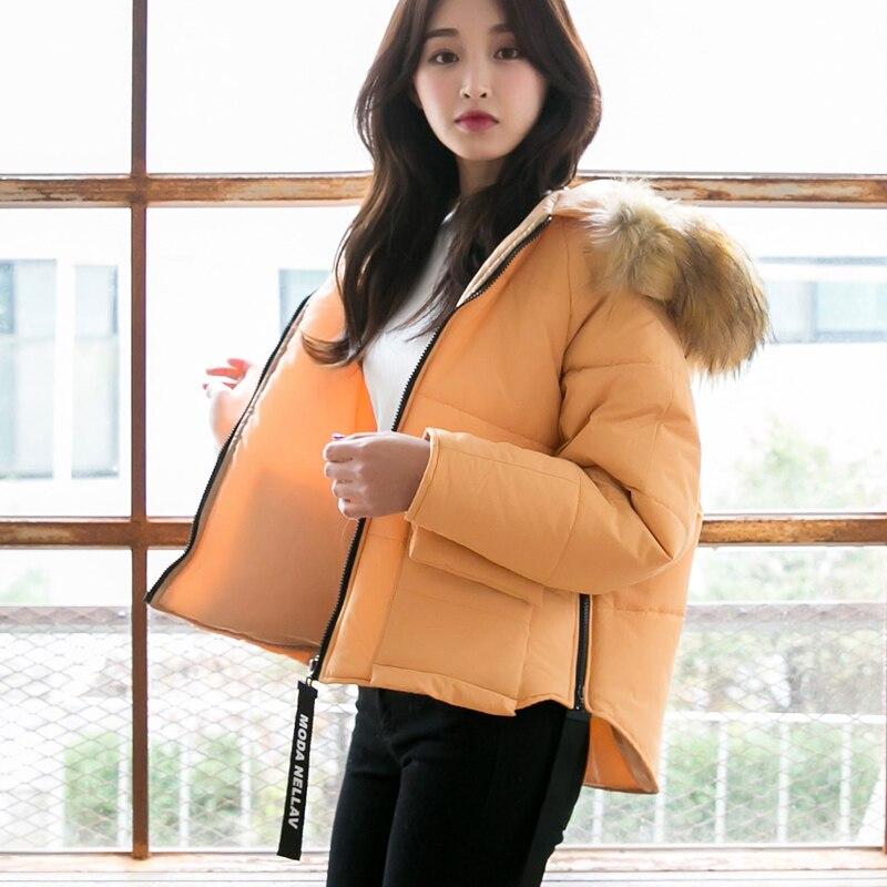 Autumn and winter the new 2016 Korean loose bat sleeve jacket Cotton Hooded female thick warm cotton coatÎäåæäà è àêñåññóàðû<br><br>