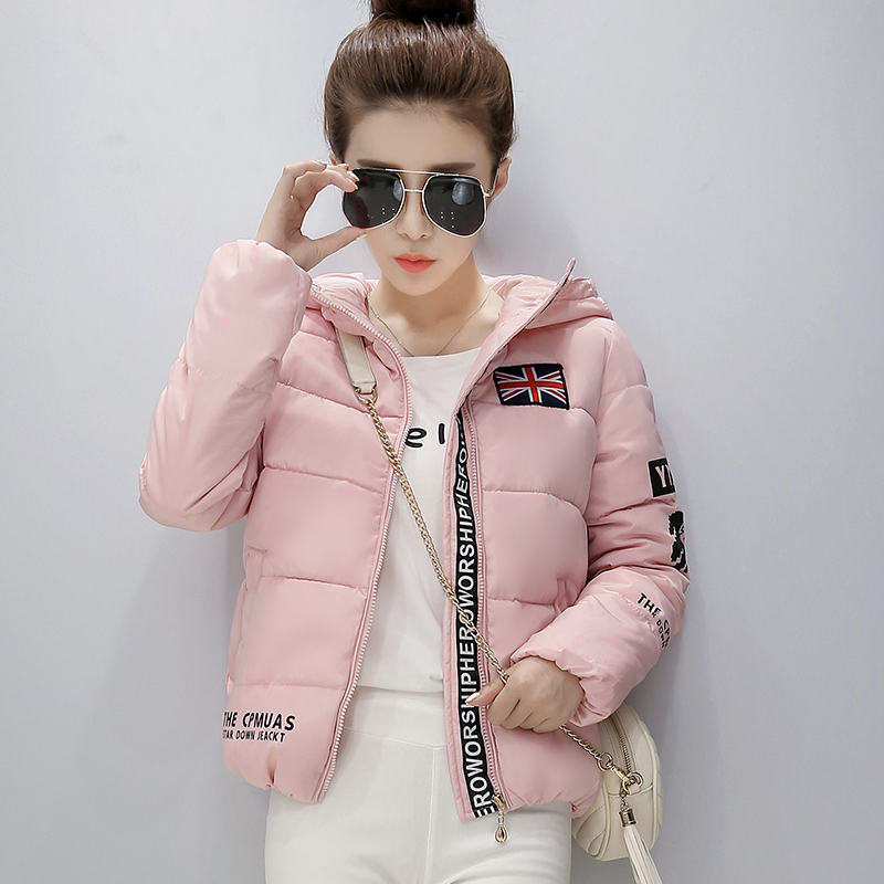 2016 new arrivel winter womens coats women jacket clothing bomber jacket fashion pink coat ladies on sale down coat