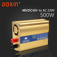 DC 48V to AC 220V 500W Watt W Auto Car Solar Power Inverter Universal Socket 90% Conversion efficiency DOXIN ST-N042