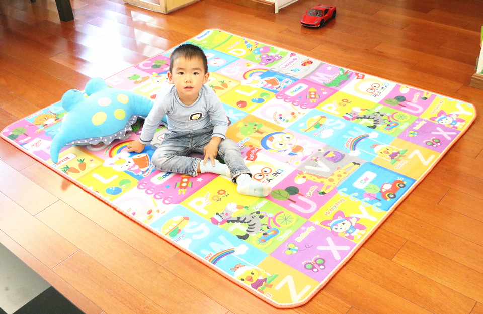 10 mm Thick Double Sides Children Play Mat Waterproof Kids Beach Picnic Mat Soft Eva Foam Carpet Rug Baby Crawling Mat Baby Toy 39