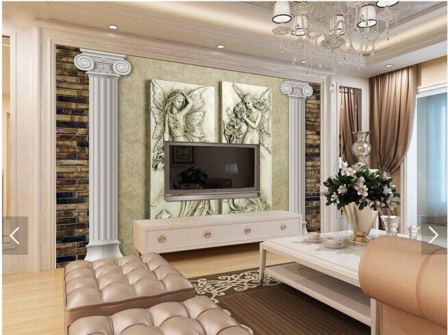 Custom vintage wallpaper,Flower Fairy,3D embossed wallpaper for living room bedroom sofa backdrop waterproof wallpaper<br>