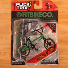 1 Set Mini Green FITBIKECO Finger BMX Bicycle Tech Finger Bikes Toys BMX Bicycle Model Gadgets Action Figure Toys For Kids Gifts(China)