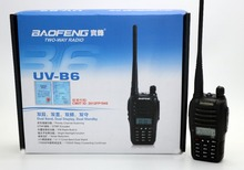 BaoFeng UV-B6 Walkie Talkie UHF VHF Dual Band UVB6 CB Radio 99CH VOX Flashlight FM Transceiver for Hunting Radio UVB5 Upversion(China)