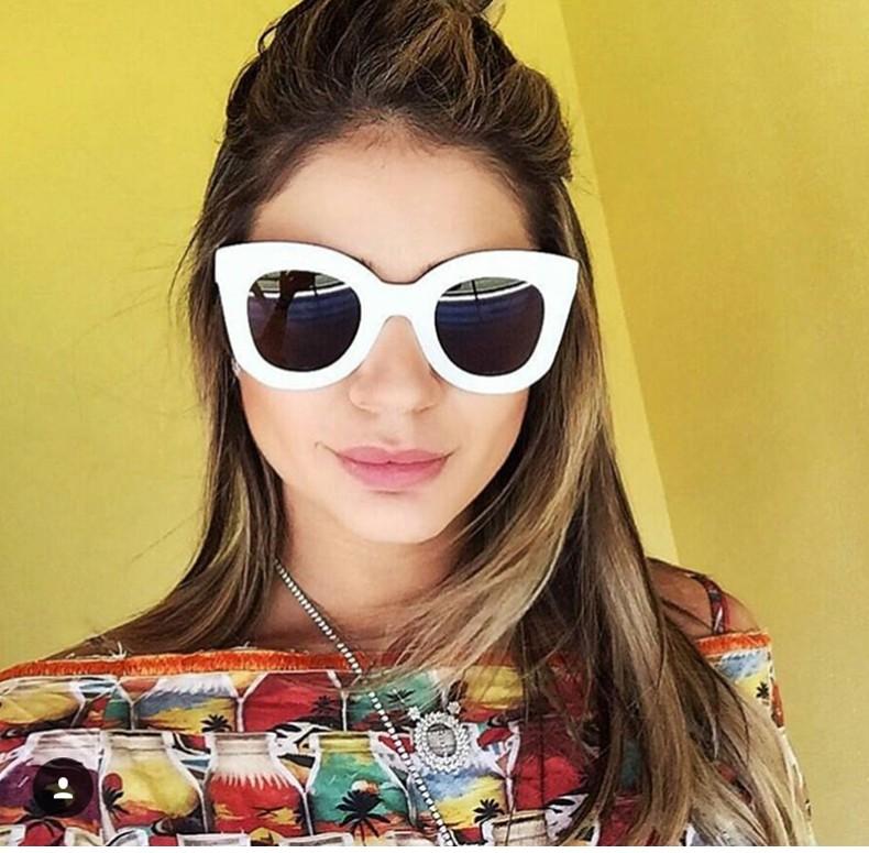 Luxury Cat Eye Sunglasses Women Brand Designer Retro Vintage Sun Glasses Women Female Ladies Sunglass Mirror Lunettes de soleil (4)