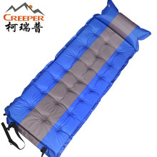 Creeper Outdoor Sleeping Mat Mattress Self-Inflating Pad Portable Single Person Foldable Bed with Pillow Camping Tent Mats(China)