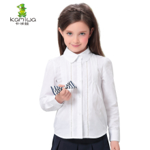 Shirts for Girls blouse  Cotton Shirts Spring Autumn Teen Oxford Children's Blouses Top Clothing Full White Baby Kids Clothes