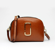 Hot Selling Ladies Messenger Bags Genuine Leather Handbags Women Famous Brands Crossbody Bags Brown Blue High Quality Bolsos(China)