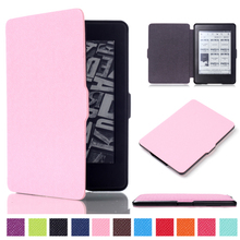 2016 New Smart Multiple Colors are Optional Ultra Slim Magnetic Case Cover For Kindle 1/2/3 generation for Kindle Paperwhite