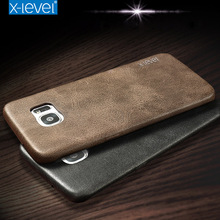 X-Level Leather Case For Iphone 7 6s Plus 5 5S SE Cover Bag for Samsung Galaxy S8 Plus S7 Edge For LG G5 G6 V10 K10