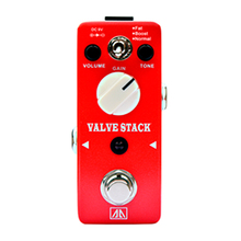 Valve Stack Amp Simulator Effect Pedal True bypass AA Series Classic Tube Distortion Tone Effects for Electric Guitar(Hong Kong)