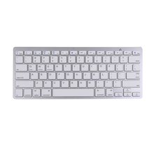 Ultra-slim Wireless Keyboard Gaming Keybaord Bluetooth 3.0 Keyboard for Apple iPad/iPhone Series/Mac Book/Samsung Phones/PC(China)