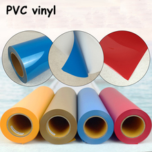New 5rolls PVC Heat Transfer Vinyl Cut By Cutting Plotter Transfer DIY T-shirt(China)
