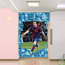 beibehang  senior modern fashion football superstar mythia wallpaper 3D sports theme wallpaper sports equipment shop European