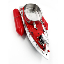 Red colour T10 Electric Wireless fishing boat Mini RC Bait Boat Fast RC Fishing Adventure Lure Bait Boat(China)