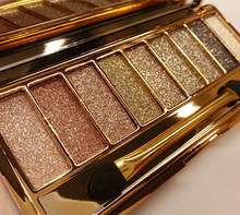 9Colors Portable Shiny Eyeshadow Naked Palette Brighten Radiant Luminous Long-lasting Profissional Eye Makeup