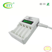BTY-N903 Ni-MH Ni-cd AA & AAA Charger LCD Smart quick Battery Charger