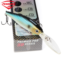 1pc Top Quality fishing lure 11.5cm/11g Fishing Tackle Exported to Japan Market Minnow Bait 8 color fishing bait with retail box(China)