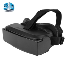 Universal Google Cardboard VR HMD-518 Virtual Reality 3D Glasses Game Movie 3D Glass For iPhone Android Mobile Phone Cinema(China)