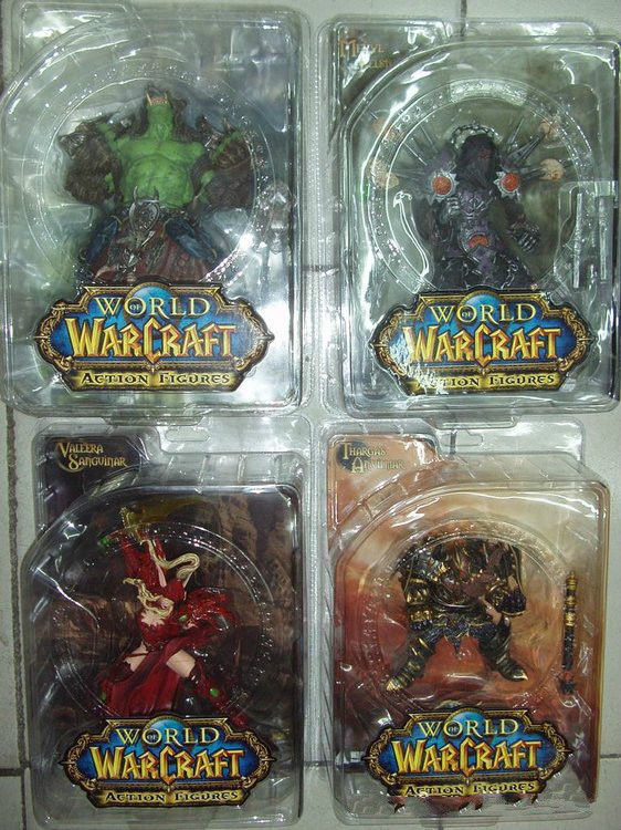 WOW Model Collection SHAMAN Night Elf Druid:Broll Bearmantle Action Figures Classic Toys For Boys with retail box Free shipping<br>